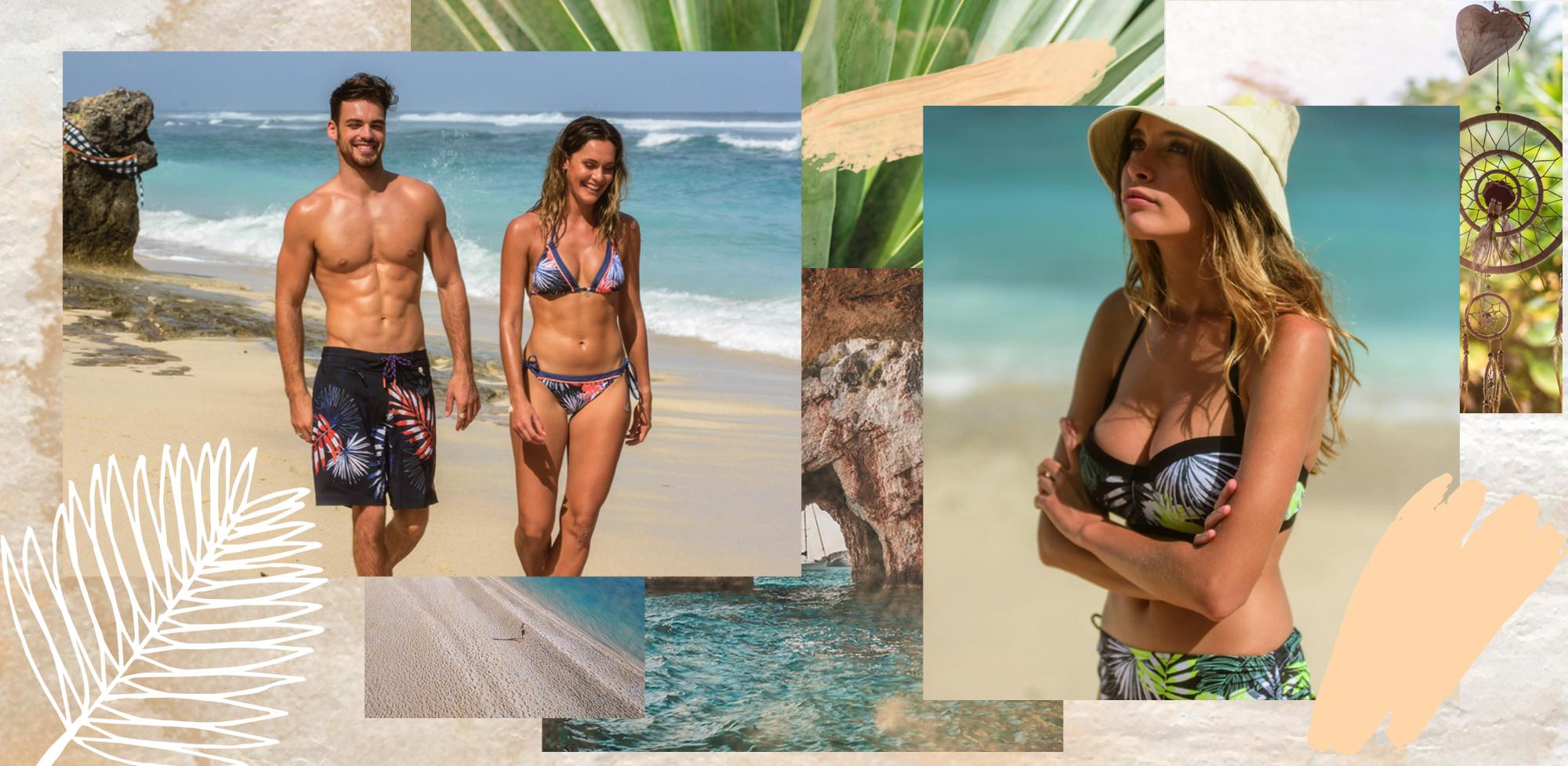 Bikini, Beachshorts, Badeanzüge, Bademoden