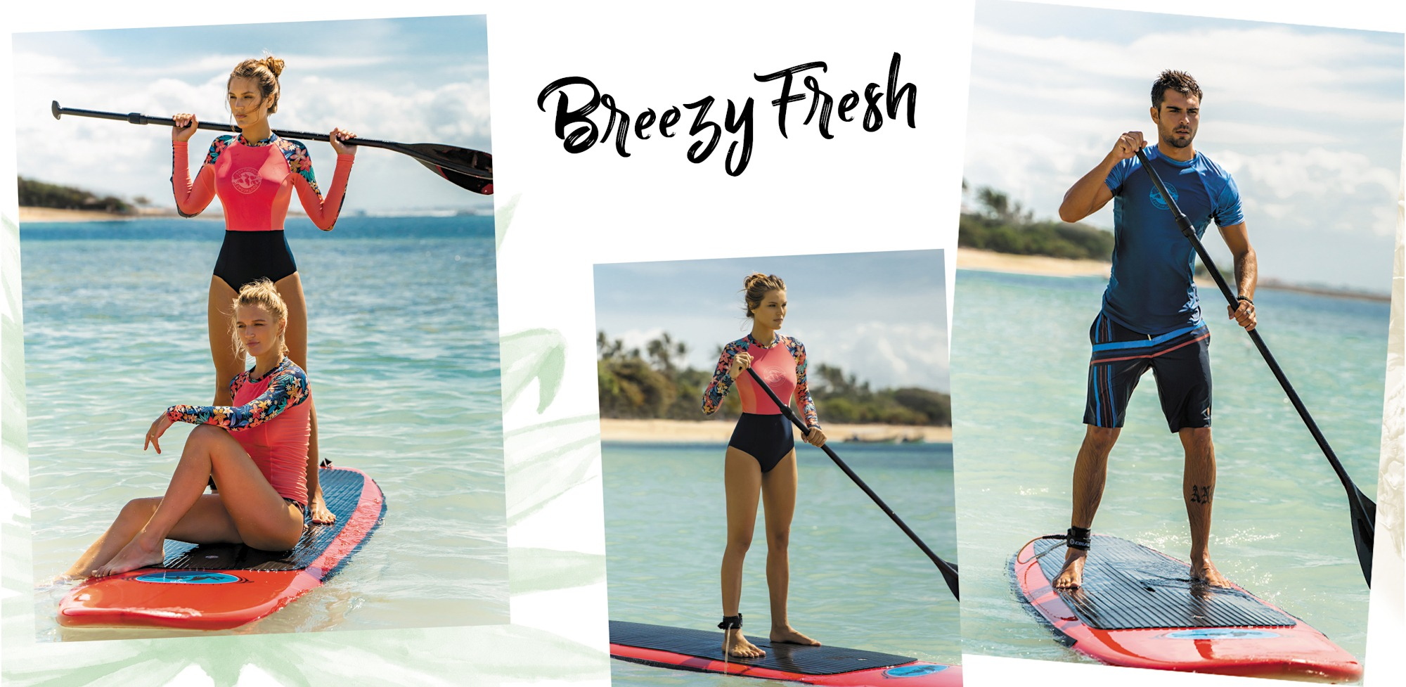 Bademoden-Bikinis-Beachshorts-Boardshorts