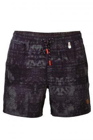 Swim-Shorts-Mens-Swimwear-Southcoast-camouflage-Schwarz-prints-summer-trend-water-sport-Wasser-Sport-Badehose-Maenner-Dunkel-Dark
