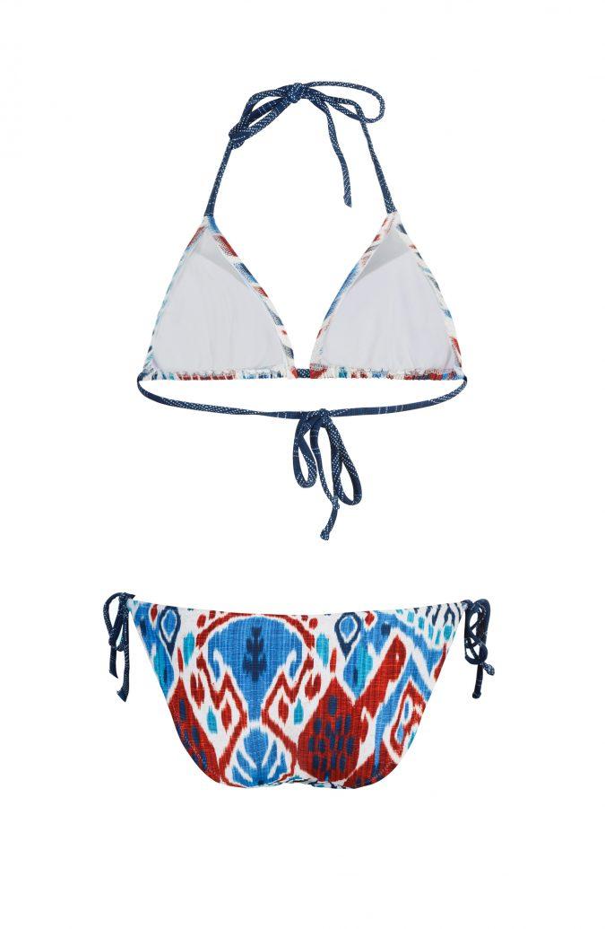Suri-Back-Bikini-Set-Triangle-Batik-print-Spaghetti-Traeger-Paradise-Southcoast-Swimwear-Bali-Geometrie-Modern