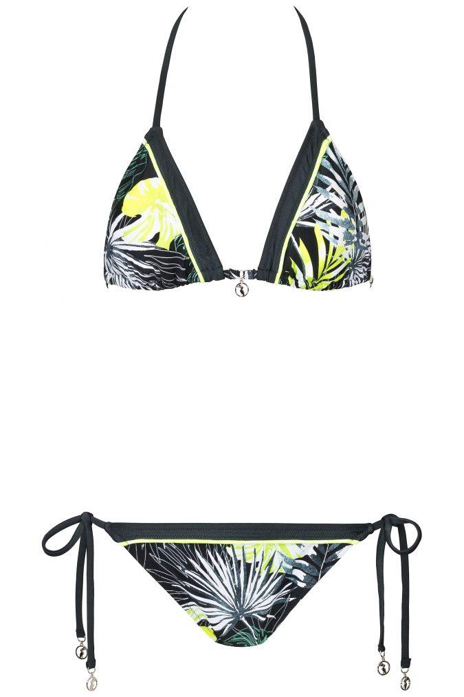 Neon_Triangle Bikini_Urban_Nature_Jungle_Floral_Tropical_Paradise_Swimwear