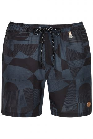 Swim-Shorts-Mens-Swimwear-Southcoast-camouflage-black-graphics-geometri-prints-summer-trend-water-sport-Wasser-Sport-Badehose-