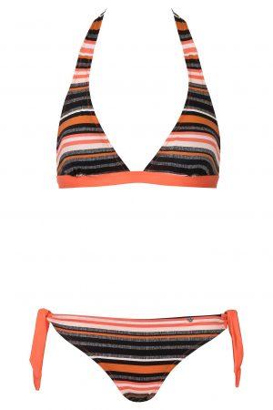 Jules-Neckholder-Bikini-Set-Denim-Streifen-Blau-Farbe-Blue-Stripes-Bikini-Paradise-Southcoast-Swimwear-Bali-Geometrie