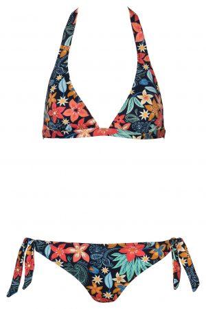 Jules-Neckholder-Bikini-Streifen-Stripes-prints-Paradise-Tropical-Southcoast-Bali-Swimwear-Tie-Knotted