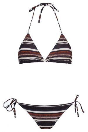 Suri-Bikini-Set-Triangle-Spaghetti-Traeger-Dark-Tropical-Paradise-Southcoast-Swimwear-Bali-Geometrie-Bold-Stripes-Streifen