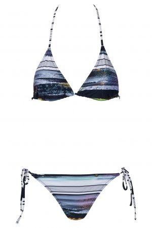 Suri-Bikini-Set-Triangle-Spaghetti-Traeger-Streifen-Blau-Farbe-Blue-Stripes-Bikini-Paradise-Southcoast-Swimwear-Bali-Geometrie