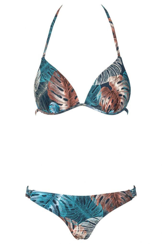 Zahara-Bikini-Set-Triangle-Push-up-soft-cup-Spaghetti-Traeger-Dark-Jungle-Tropical-Leafs-Blaetter-Prints-Paradise-Southcoast-Swimwear-Bali