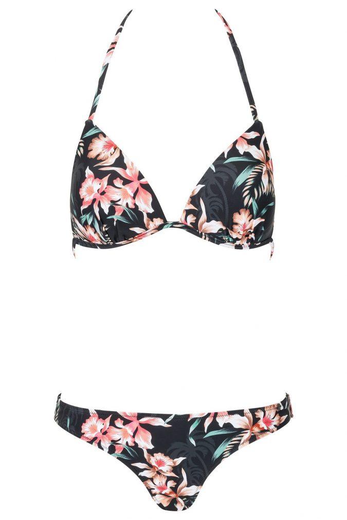 Zahara-Bikini-Set-Triangle-Push-up-soft-cup-Spaghetti-Traeger-Dark-Jungle-Tropical-Paradise-Southcoast-Swimwear-Bali